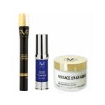 VERSACE 19.69 Premium Caviar Eye Cream 15ml & Κρέμα με Κολλαγόνο και Ρόδι 50ml & ΔΩΡΟ Ορός Premiun Caviar 30ml
