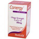 HealthAid Conergy Mega Strength CoQ-10 30mg 90caps