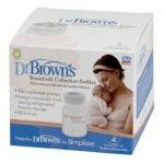 Dr. Brown's 4010 Μπουκάλια συλλογής μητρικού γάλακτος χωρητικότητας 120ml 4 τεμάχια
