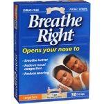 Breathe Right medium 30 ταινιες ρινικης απόφραξης