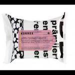 Korres Set  Μαντηλάκια Καθαρισμού & Ντεμακιγιάζ με Ρόδι για Λιπαρές & Μικτές Επιδερμίδες 25μ