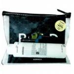"Korres ""Beauty in a Bag"" BOLD gift set - Σετ με ΜΑΣΚΑΡΑ Black Volcanic Minerals 01 Black, 8ml / Professional Liquid EYELINER 01 Black, 2.5ml / ΓΑΛΑΚΤΩΜΑ ΚΑΘΑΡΙΣΜΟΥ 3 σε 1, 200ml Σετ με 3 προϊόντα KORRES μέσα σε πρακτικό τσαντάκι για τα καλλυντικά σας."