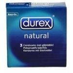 Φυσικό 3 προφυλακτικά  Durex