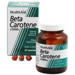 Health Aid Beta-Carotene (Natural) 15mg Capsules 30's