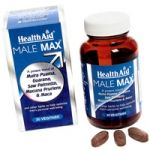 HealthAid Male Max vegetarian tablets 30s (Export Only)
