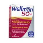 WELLMAN 50+ 30caps Vitabiotics