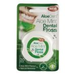 OPTIMA Aloe Mint Dental Floss οδοντικό νήμα