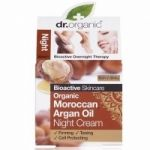 Dr.Organic Moroccan Argan Oil Night Cream, 50ml