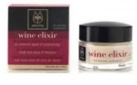 Wine Elixir Αντιρυτιδική & Συσφιγκτική Κρέμα Νύχτας 50ml APIVITA