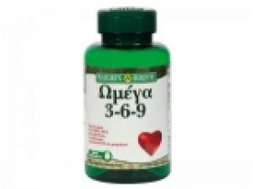 Nature's Bounty Omega 3-6-9 60μαλακές κάψουλες