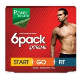 Power Health 6Pack Extreme Start+Go+Fit 3x30caps