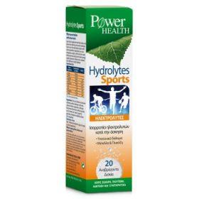 POWER HEALTH Hydrolytes Sport Ηλεκτρολύτες 20 Αναβράζοντα Δισκία