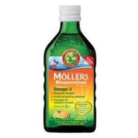 Moller's Μουρουνέλαιο Tutti frutti 250 ml ευχάριστη γεύση