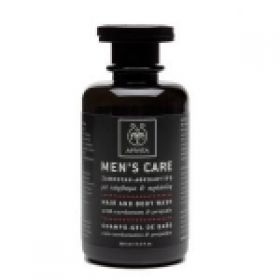 Men's Care Σαμπουάν-Αφρόλουτρο με Κάρδαμο & Πρόπολη 250ml APIVITA