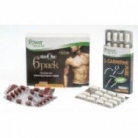 Power Health Size One 6pack, 30 Κάψουλες & ΔΩΡΟ L-Carnitine Pure, 30 Κάψουλες