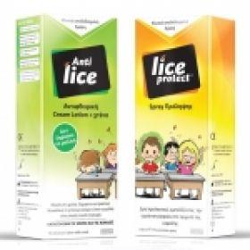 Lice Cream Lotion 100ml + Protect Spray 100ml Πρόληψη και θεραπεία