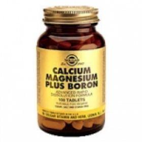 Calcium Magnesium Plus Boron 100s Solgar
