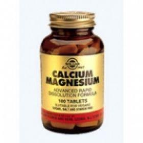 CALCIUM MAGNESIUM tabs 100s Solgar