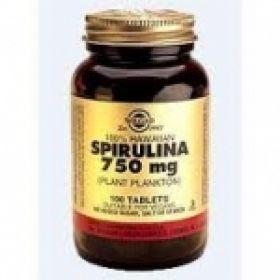Solgar Spirulina 750mg tabs 100s σπιρουλίνα