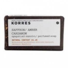 KORRES  Σαπούνι Safron-Amber Cardamon (125 gr)