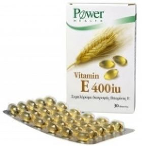 Vitamin E 400 iu POWER HEALTH