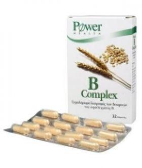 Β COMPLEX Blister 32's POWER HEALTH