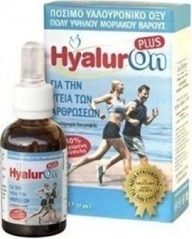 Abc Kinitron Hyaluron Plus Πόσιμο Υαλουρονικό Οξύ Πολύ Υψηλού Μοριακού Βάρους 30m