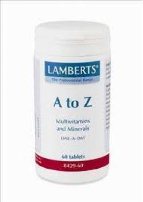 A-Z MULTIVITAMINS 60tabs  Lamberts