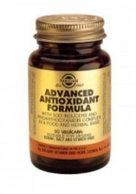 Advanced Antioxidant Formula 120 φυτοκάψουλες Solgar