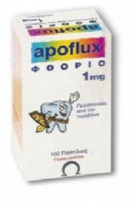 Apoflux 1mg 40tabs φθόριο