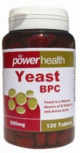 Power Yeast 500mg POWER HEALTH