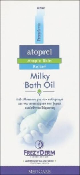 Atoprel Milky Bath Oil 2x125ml FREZYDERM
