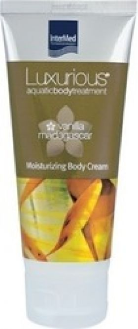 Intermed Luxurious Vanilla Madagascar Moisturizing Body Cream Ενυδατική Κρέμα Σώματος 200ml