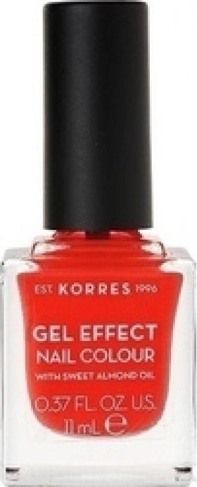 KORRES - GEL EFFECT Nail Colour No19 Watermelon - 11ml