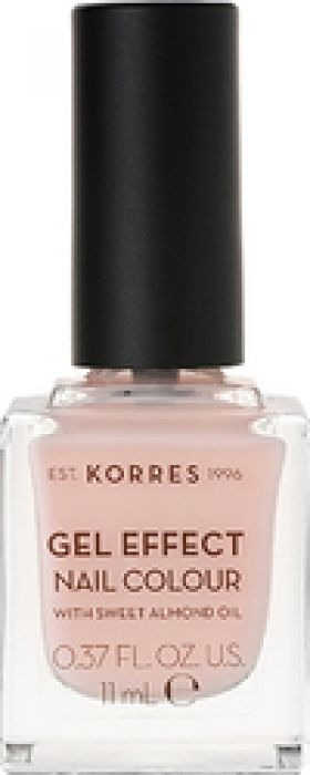 KORRES - GEL EFFECT Nail Colour No04 Peony Pink - 11ml