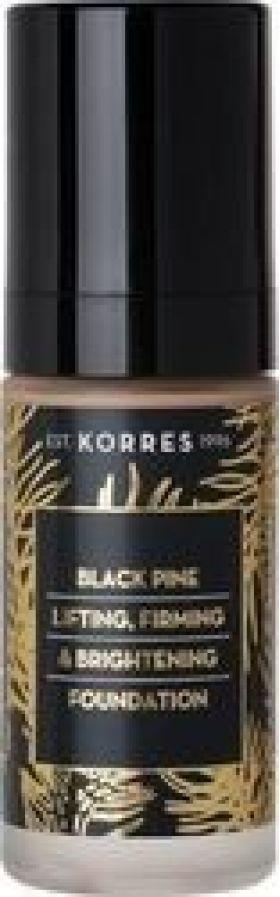 Korres Μαύρη Πεύκη Make Up Ανόρθωση, Σύσφιγξη & Λάμψη, απόχρωση BPF4, 30m